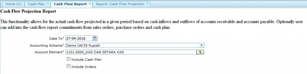 Cash Flow Parameter